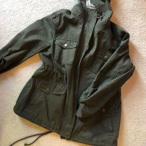 BCBG army jacket